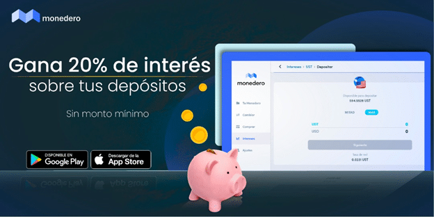 Earn 20% Interest On Your Cryptocurrency Deposits With Wallet